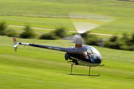 Hubschrauber selber fliegen Frankfurt
