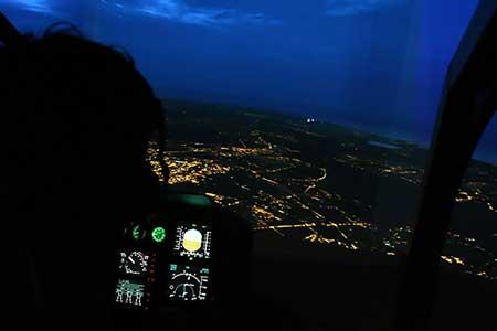 Simulator Nachtflug