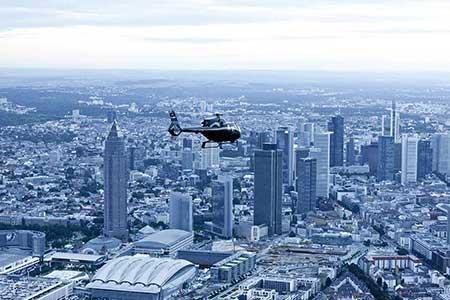 Hubschrauberrundflug über Frankfurt