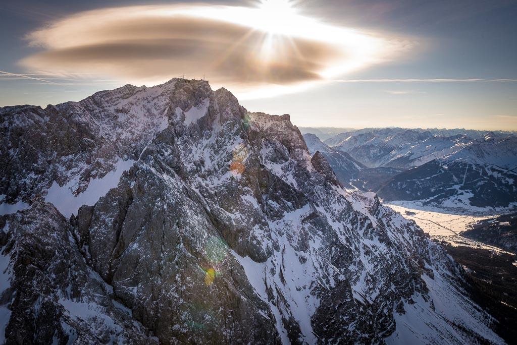 Rundflug Zugspitze
