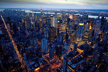 Hubschrauberrundflug New York Nacht