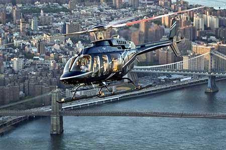 Hubschrauberflug new york