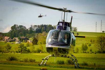 20 Min. Helikopterrundflug Schweiz
