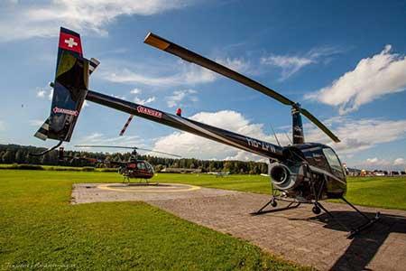 Helikopter selber fliegen Robinson R22+R44