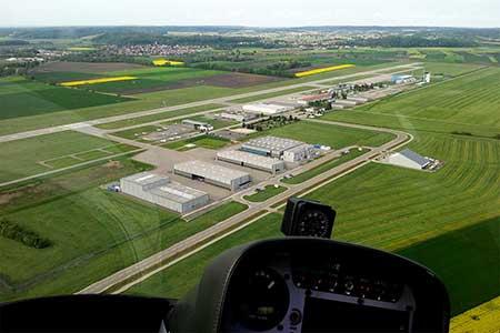 Hubschrauberrundflug Augsburg Flughafen