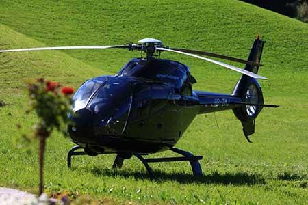Helikopter Landung