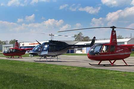 Helikopterrundflug ab Basel