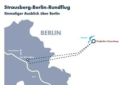 Rundflugroute Berlin Strausberg
