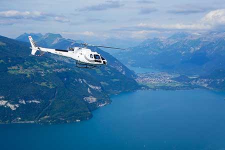 Helikopterflug Thunersee