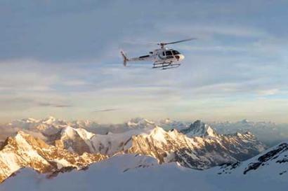 Helikopterrundflug Alpen