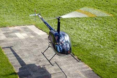 Helikopter selber fliegen Bern