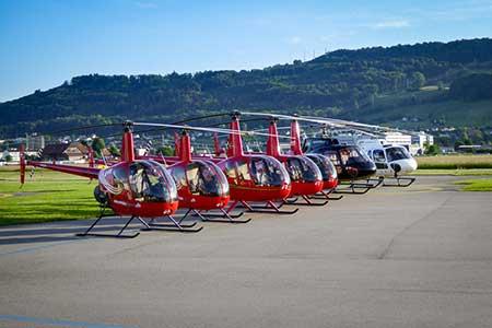 Helikopterrundflug Bern