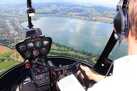 Hubschrauber selber fliegen Deutschland