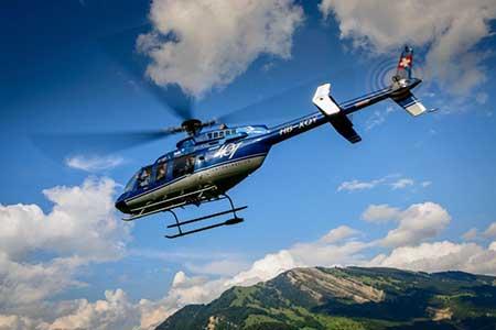 Helikopter Rundflug Buochs