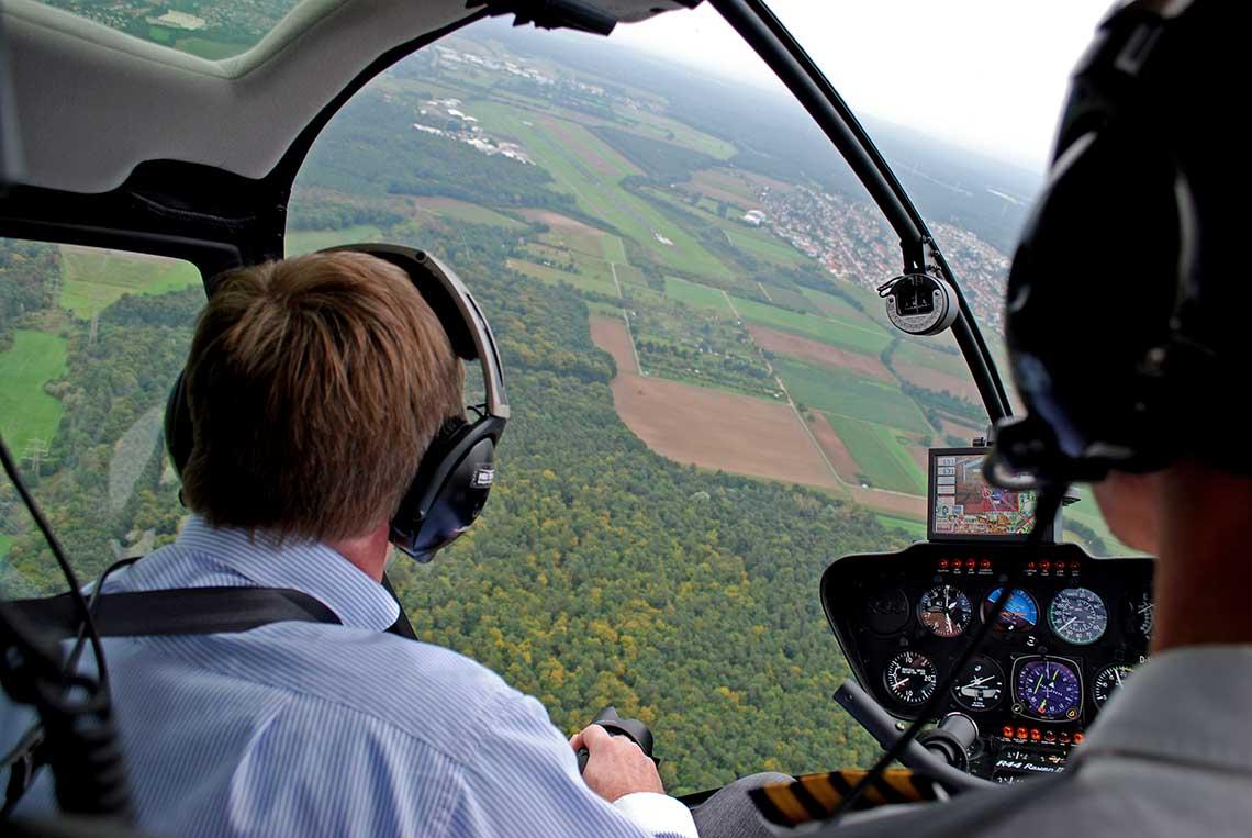 Hubschrauberrundflug Dresden