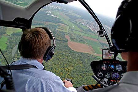 Hubschrauber Rundflug Kamenz