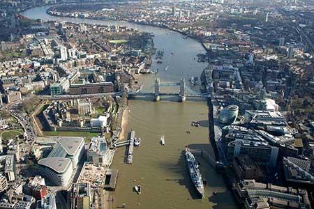 Helikopter London Bridge