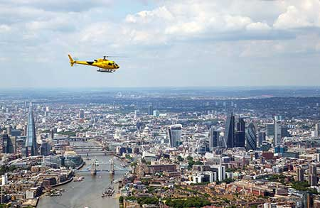 Helikopterflug London