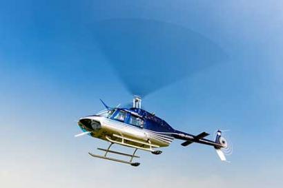 Helikopterstart Erfurt