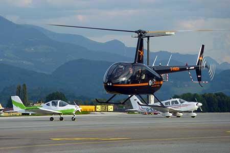 Hubschrauberflug Hannover Flugplatz