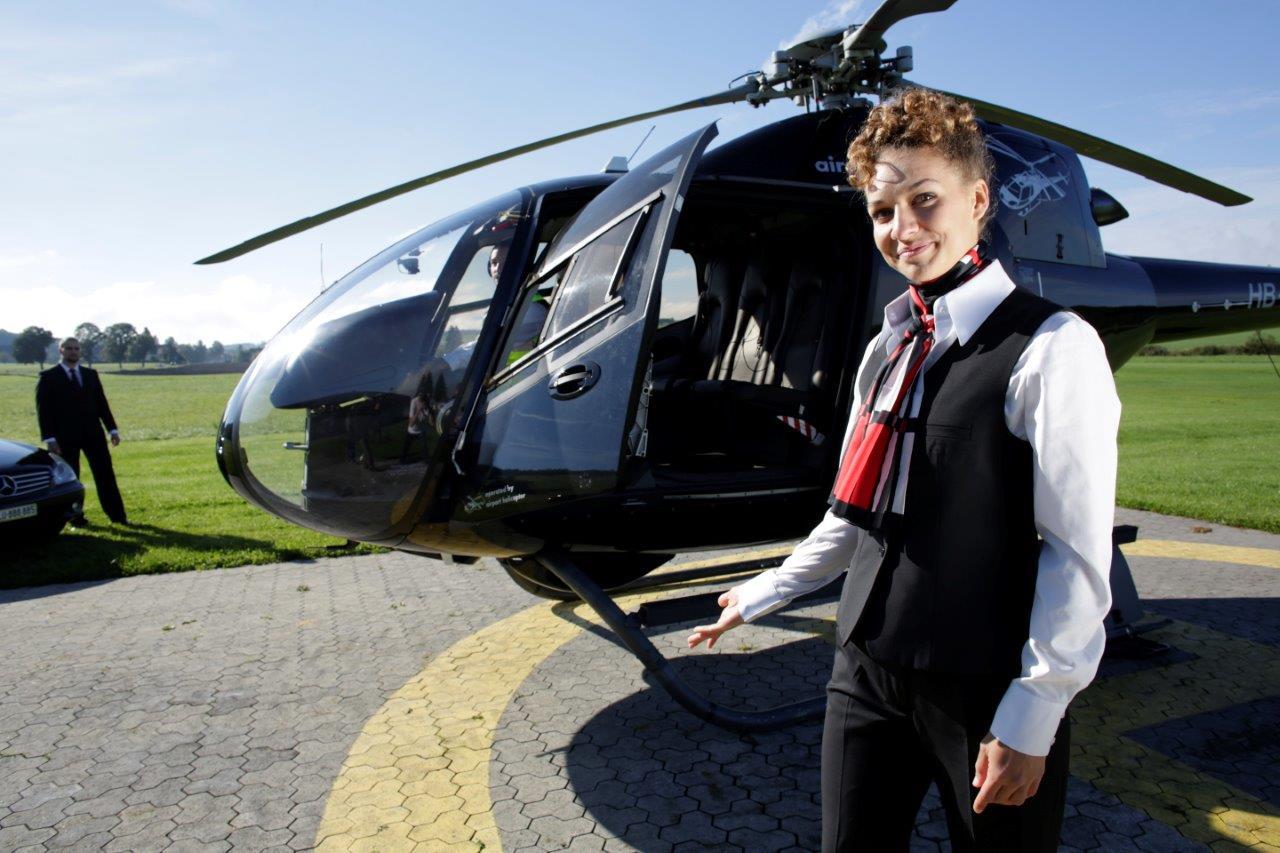 Hubschrauberflug Region Hannover
