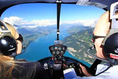 Hubschrauberrundflug Bodensee