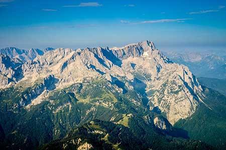 Hubschrauberrundflug Zugspitze