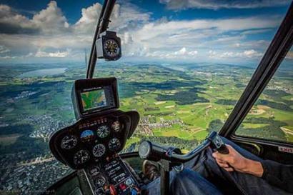 Hubschrauberflug Göttingen