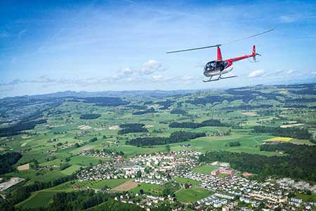 Hubschrauberrundflug ab Gera Leumnitz