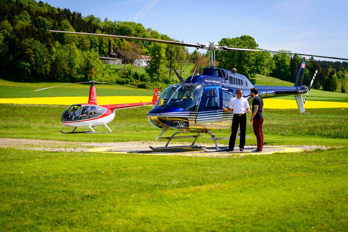 Hubschrauber Rundflug Fluggast Graz