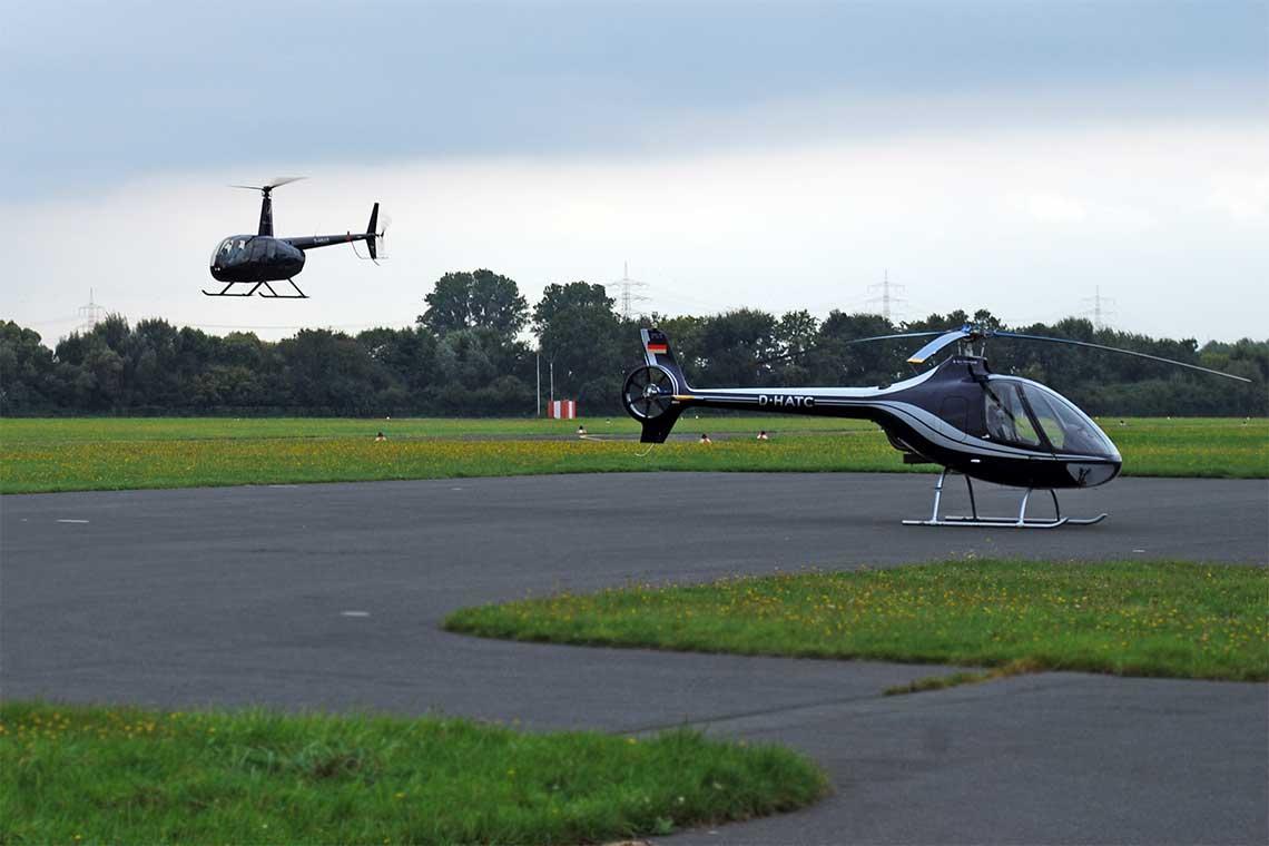 Hubschrauberflug Graz
