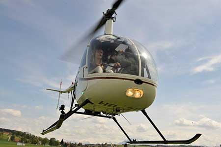 Hubschrauber selber fliegen Robinson R22