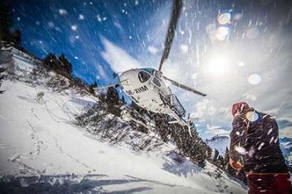 Helikopter Alpenrundflug ab Gstaad