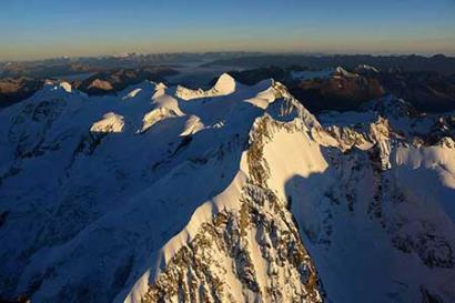 Helikopterflug Piz Bernina