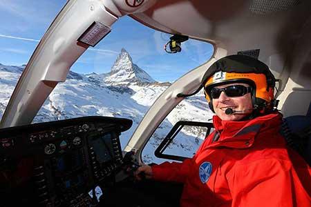 Helikopterrundflug Zermatt