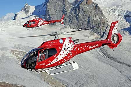 Helikopterundflug Air Zermatt