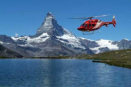 Helikopter Zermatt Matterhorn
