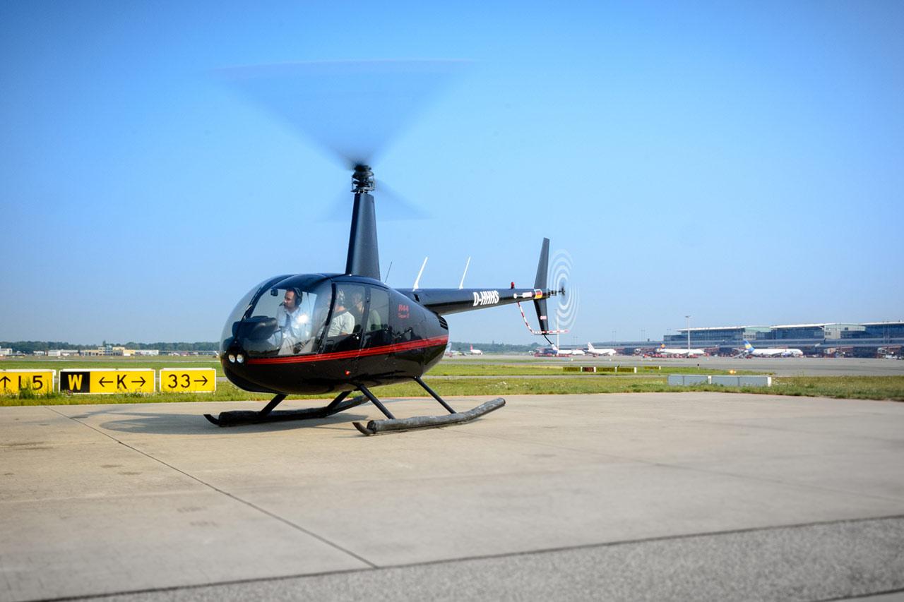 Robinson R44 Uetersen Heist