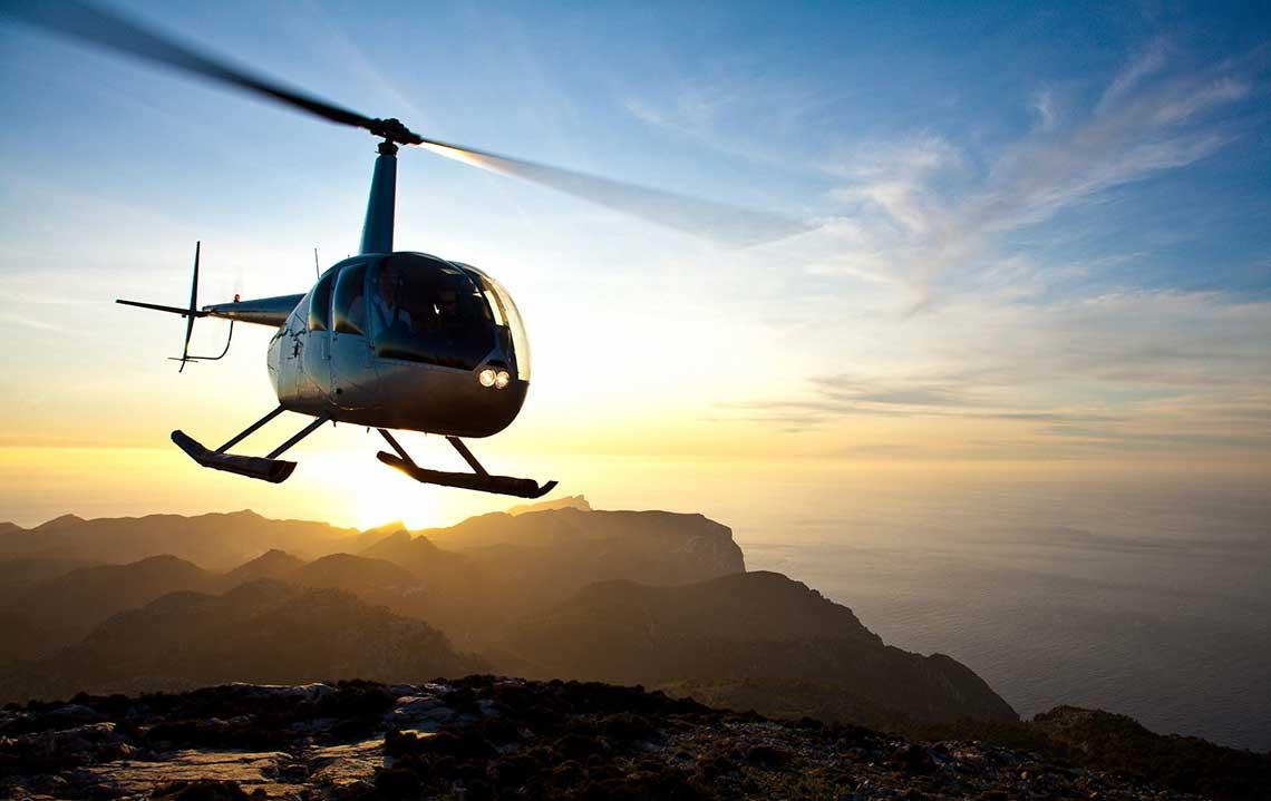 Hubschrauberrundflug Mallorca