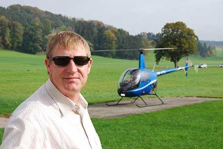 Hubschrauber selber fliegen Pilot 1 Tag stockerau