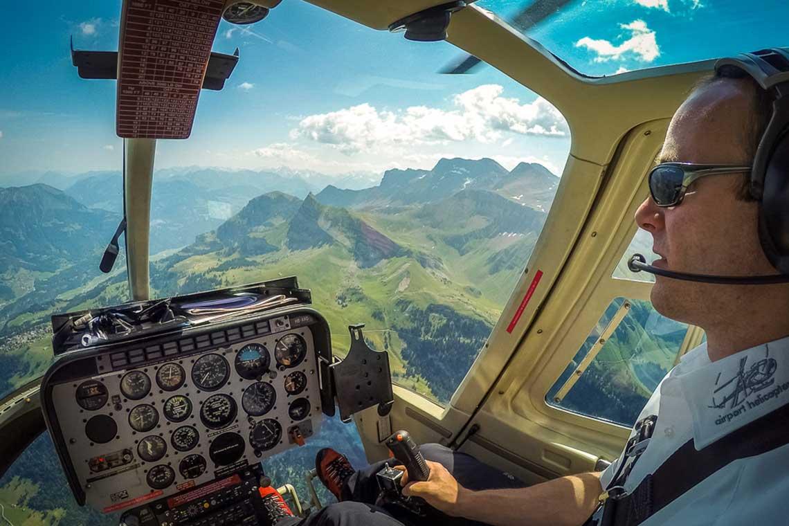 Alpenrundflug Salzburg