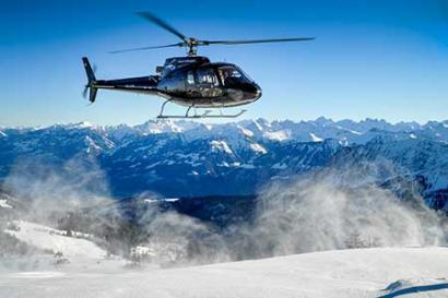 Alpenrundflug Gstaad