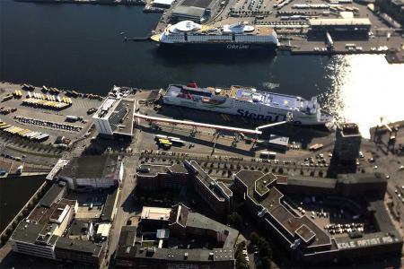 Helikopterflug Kiel