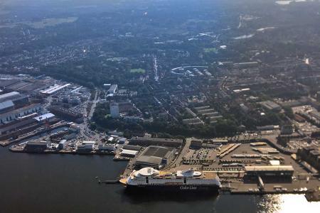 Hubschrauberflug Kiel