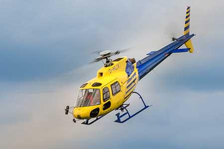 Hubschrauberflug Passau