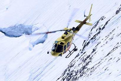 Helikopterflug St. Moritz