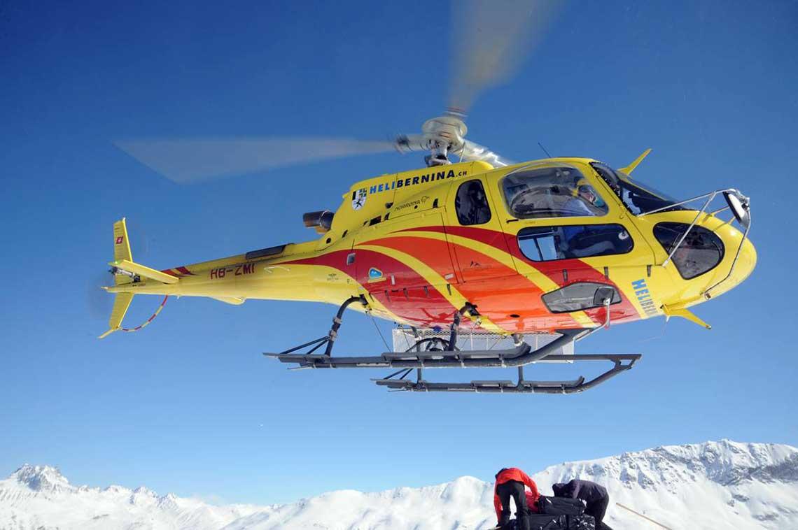 Helikopterrundflug ab Samedan/St. Moritz