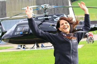 günstiger Hubschrauberflug
