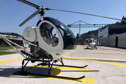 Helikopter selber fliegen Schindellegi