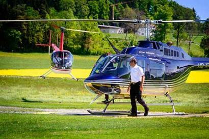 Hubschrauberflug Hildesheim